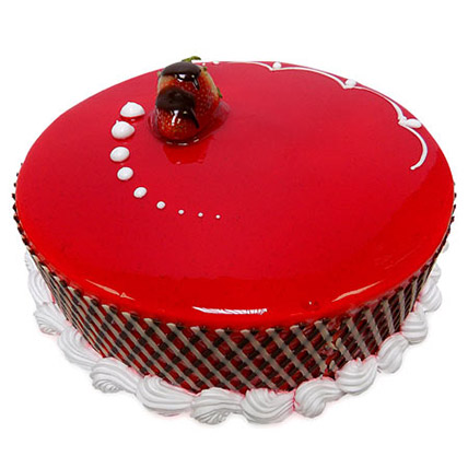 1Kg Strawberry Carnival Cake BH: Cake Delivery in Bahrain