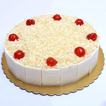 Mouthwatering Whiteforest Cake: Gift Delivery Bahrain