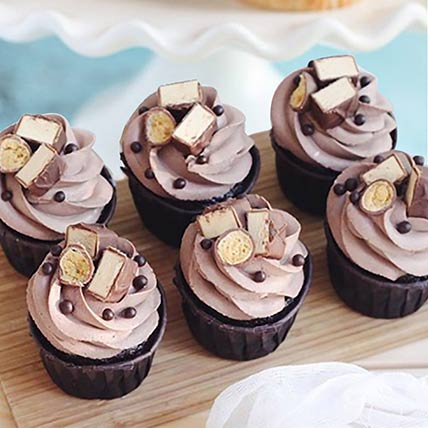 Delicious Chocolate Cupcakes: Cake Delivery in Bahrain