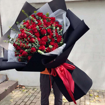Love You Red Rose Bouquet: Flower Delivery China