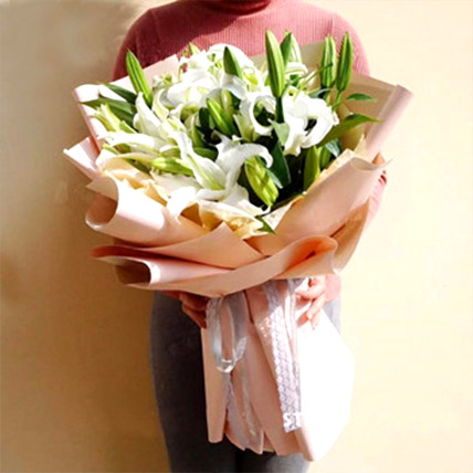 White Lily Love: Gifts To China