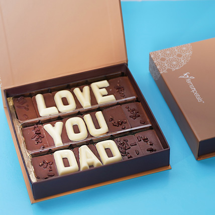 16pcs Blue and White Best Dad Box: Father's Day Gifts