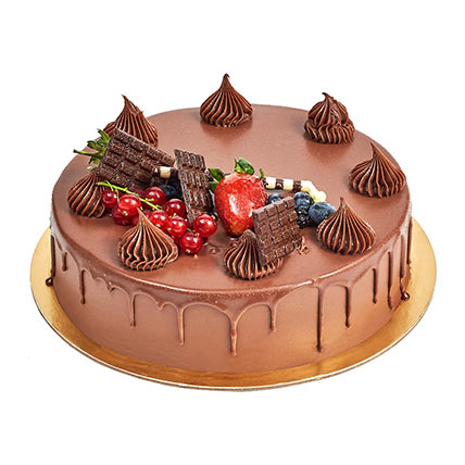 4 Portion Fudge Cake: Cake Delivery in Ras Al Khaimah