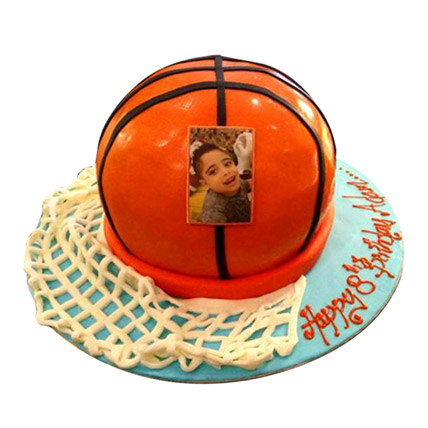 Basketball Ball Cake: Custom Cakes