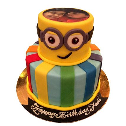 Bob the Minion Cake: Designer Cakes
