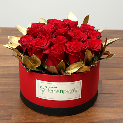 Box Of 20 Red Roses:
