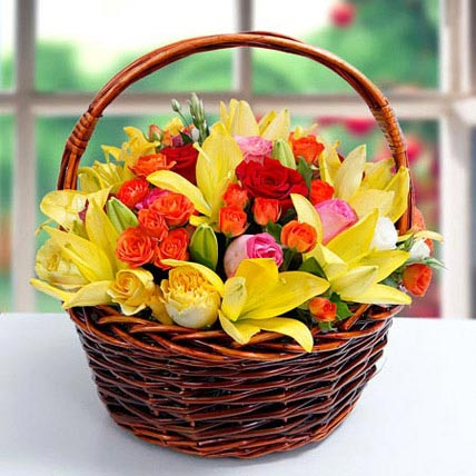 Cheer ur Day: Basket Arrangements