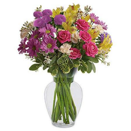 Color It Happy: Womens Day Flowers in Ajman