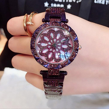 Czech Crystal Purple Watch: Accessories