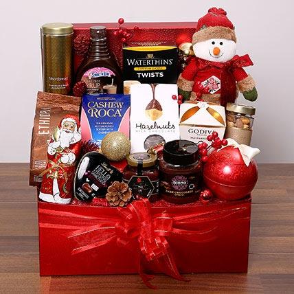 Delectable Xmas Hamper: Christmas Gift Hampers