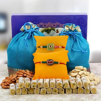 Dry fruits ka pyaar:  Rakhi Delivery