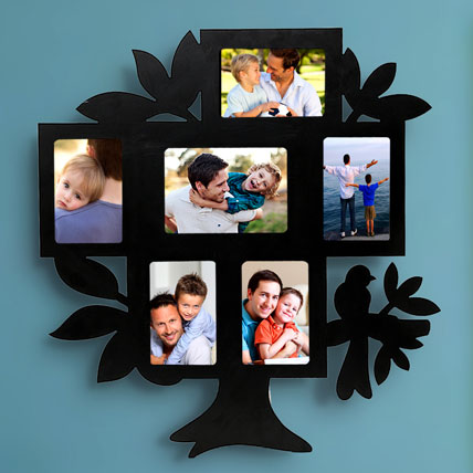 Family Tree Personalized Frame Birthday Gift For Husband