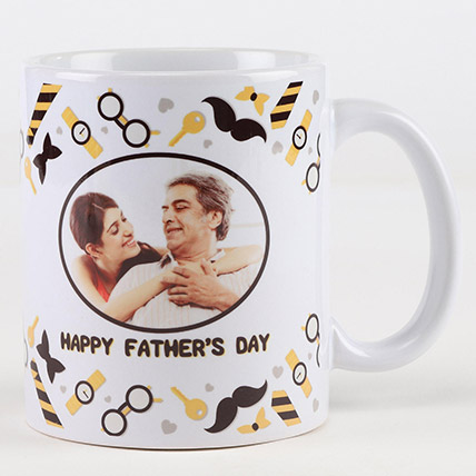 Happy Fathers Day Personalised Mug: Fathers Day Personalised Gifts