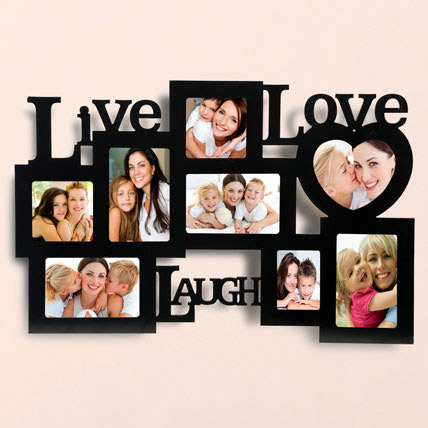 Live Love Laugh Photo Frame: Personalised Gifts to Abu Dhabi