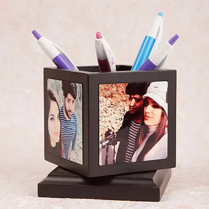Personalized Pen Holder: Bhai Dooj Personalised Gifts