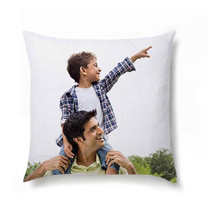 Personalized Photo Cushion: Fathers Day Personalised Gifts