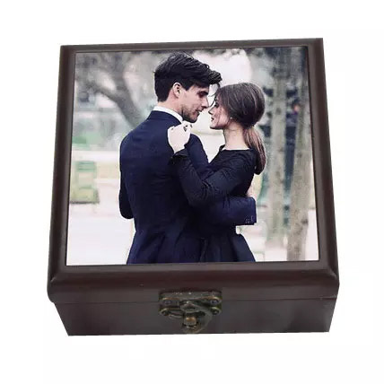 Personalized Wooden Box: Friendship Day Personalised Gifts