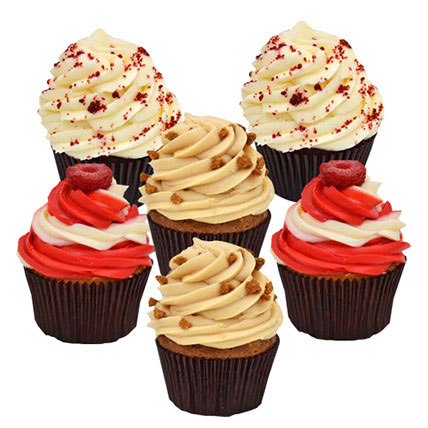 Six Delighful Cupcakes: Cupcake Delivery in Dubai