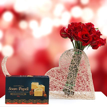 Sweet and Romantic Gift Combo: Anniversary Sweets