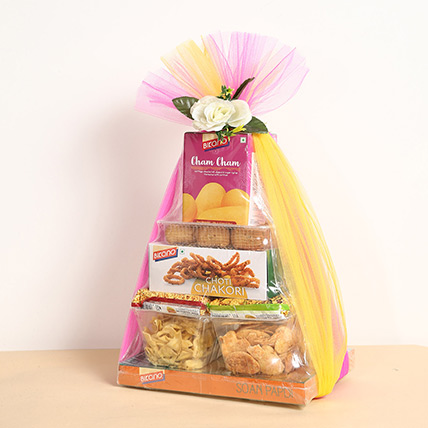 Sweets and Snacks Hamper: Diwali Gifts