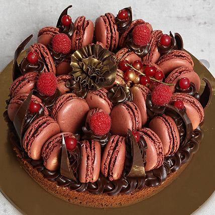 Tempting Choco Macronade Cake: Anniversary Cakes to Ajman