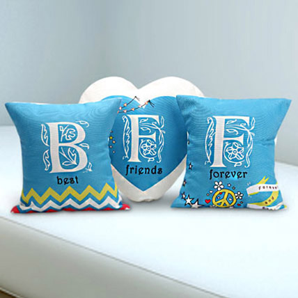 Best Friends Forever Trio: Personalised Cushions