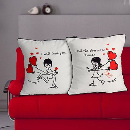 Everlasting Love Cushion: Personalised Cushions