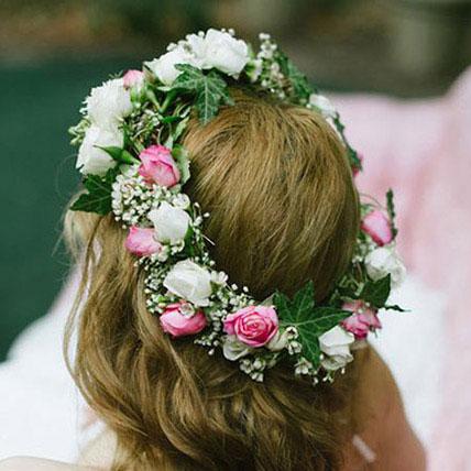 Gorgeous Floral Tiara: