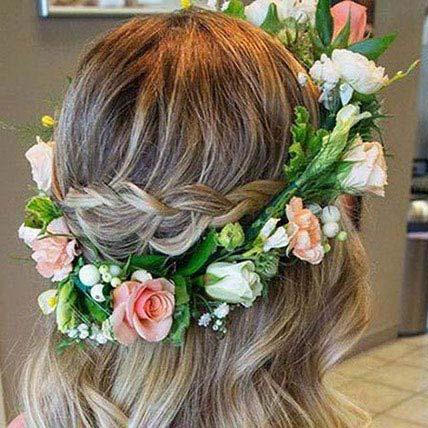 Look Beautiful Tiara: Wedding Flowers