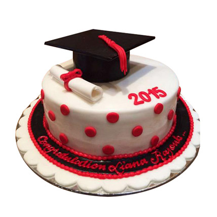 Convocation Degree Cake: 3D Cakes Dubai