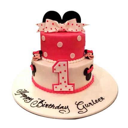 Minnie the cutie Cake: Minnie Mouse Cake