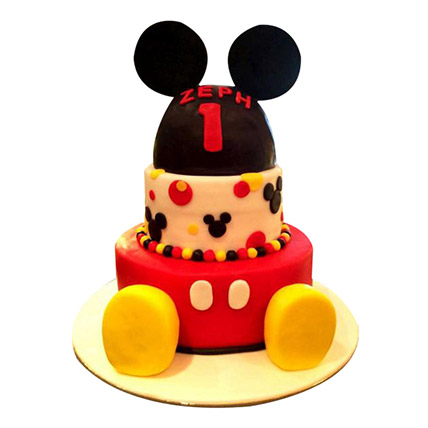 Lovely Mickey Cake: Mickey Mouse Cakes for Kids