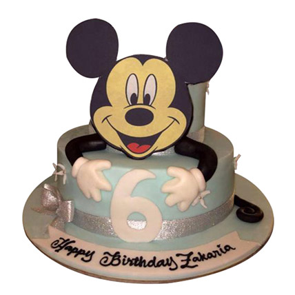 Mickey the Cartoon Cake: Mickey Mouse Cakes for Kids