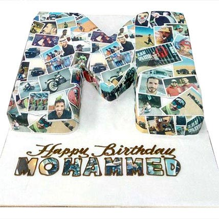 Birthday Cake with Picture: Cakes for Him