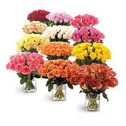 Twelve Bouquets of Roses: Premium Gifts