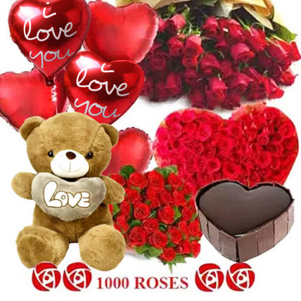 Lost in Love: Teddy Day Flowers and Teddy Bears