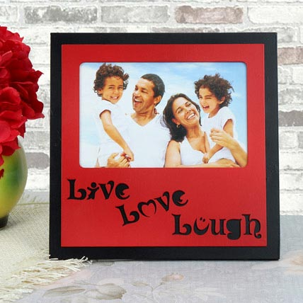 Personalized Live Love Lough Frame: Birthday Gifts for Kids