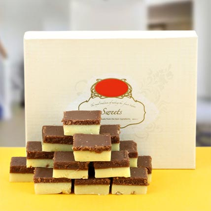 Enjoyable Chocolate Barfi: Sweets in Dubai