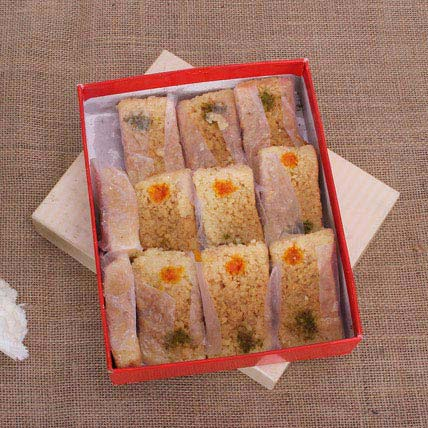 Delicious Milk Cake: Gifts For Holi