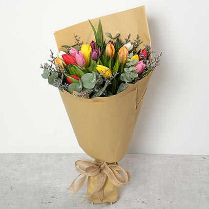 Beautiful Tulips Bouquet: