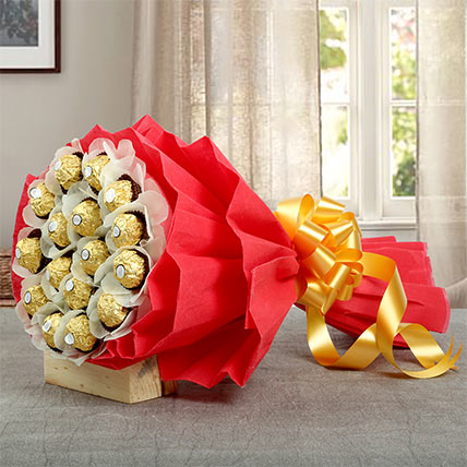 24Pcs Ferrero Bouquet: Best Valentine Gift For Girlfriend
