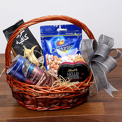 Snack and Sweet Basket: Chocolates Delivery with in One Hour