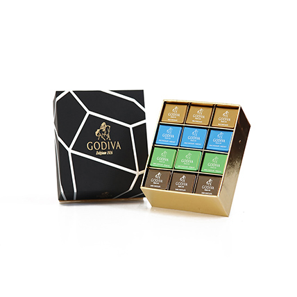 Box Of Delectable Godiva Chocolates 24 Pcs: Chocolates Delivery with in One Hour