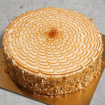 500gm Yummy Butterscotch Cake: Birthday Cakes Dubai