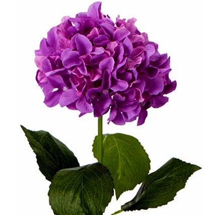 Bunch of 5 Artificial Purple Hydrangea: Artificial Flowers Dubai