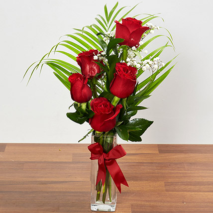 Beautiful Red Rose Arrangement: Anniversary Flower Arrangements