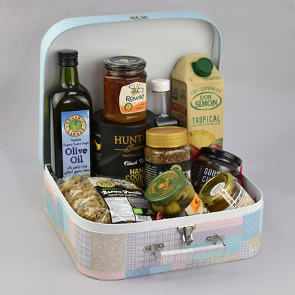 Suitcase Of Snacks: Mothers Day Gift Hamper