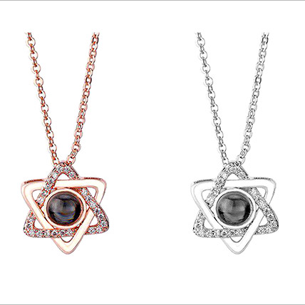 Love Projection Star Necklace: Accessories