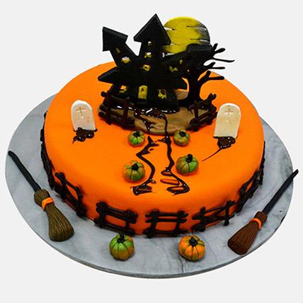 Haunted House Cake: Halloween Gifts