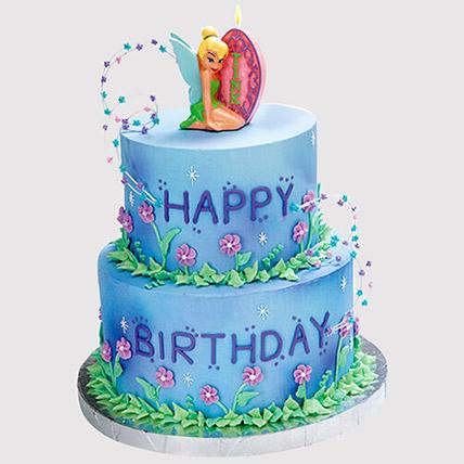 2 Tier Tinker Bell Cake: Tinkerbell Birthday Cakes